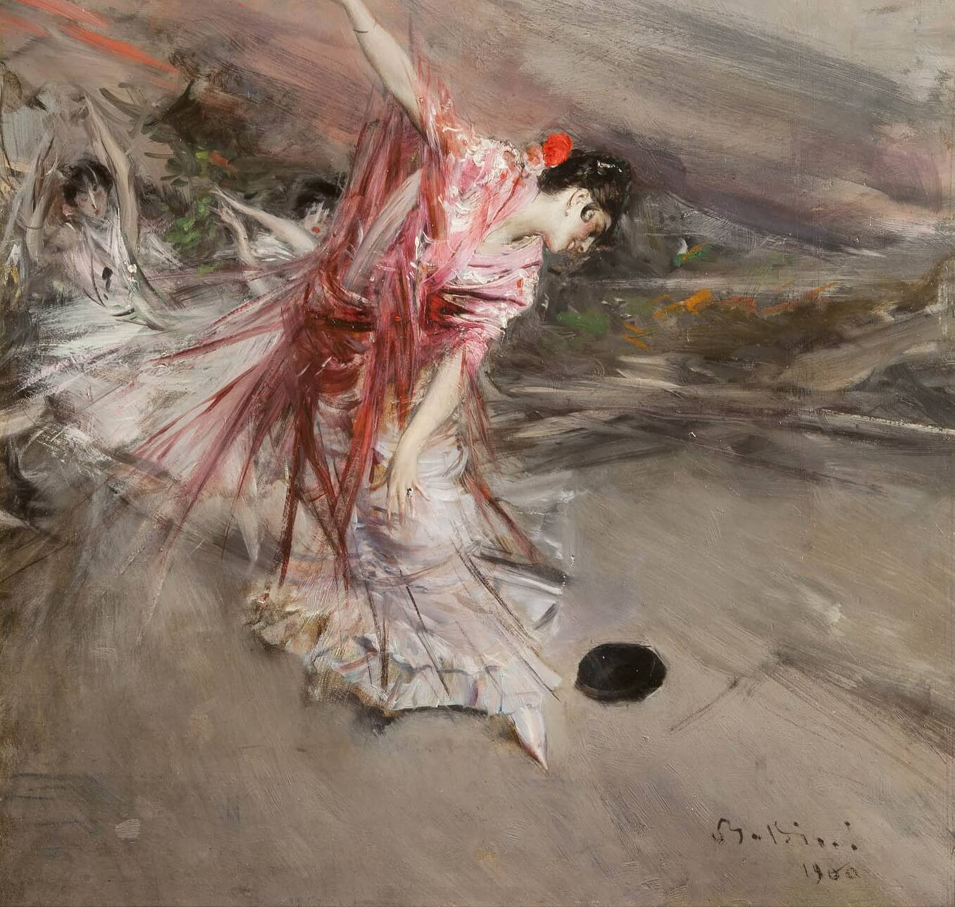 Giovanni Boldini, Spanish dancer, 1900