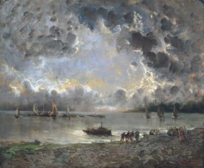 Pompeo Mariani, Impressionista italiano