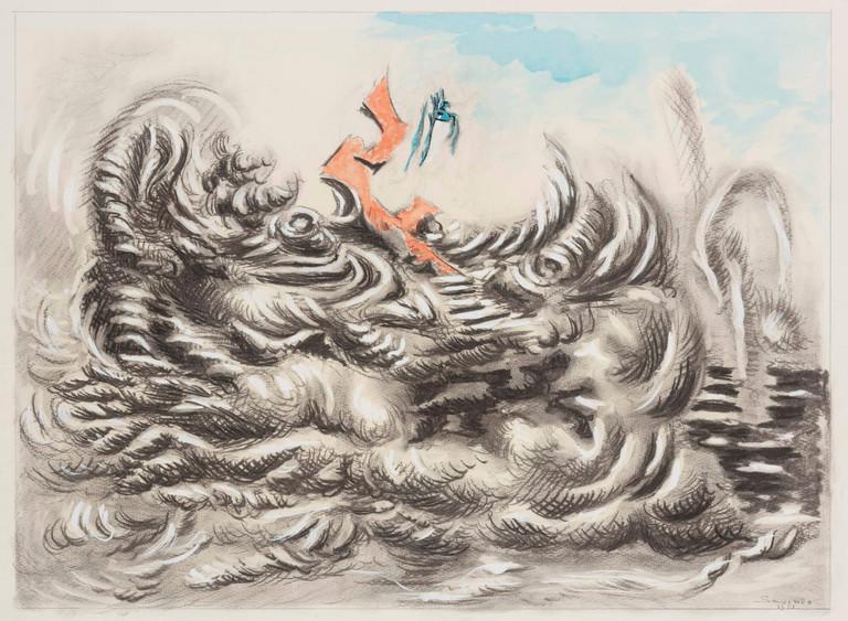 Alberto Savinio, Materia in trasformazione, 1951