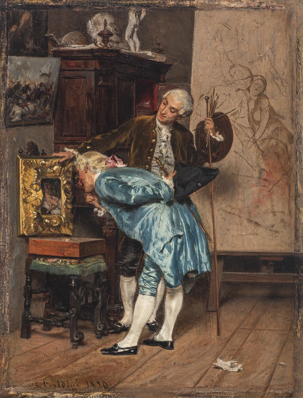 Giovanni Boldini, L'amatore d'arte, 1890