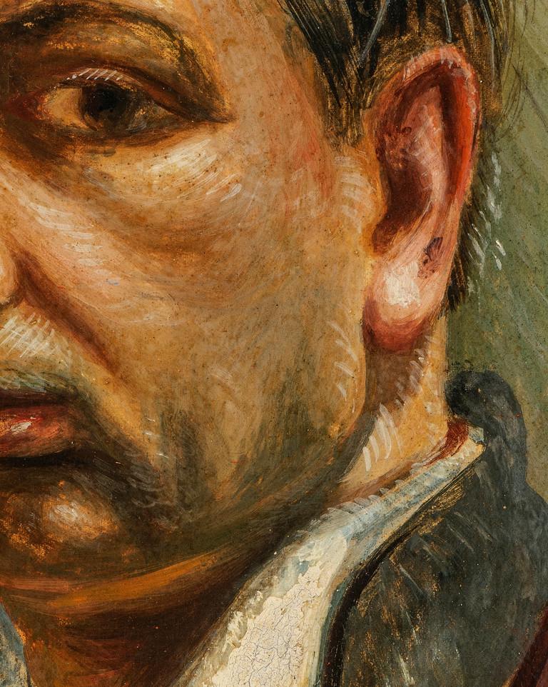 Giorgio de Chirico, Autoritratto, 1931  (second detail)