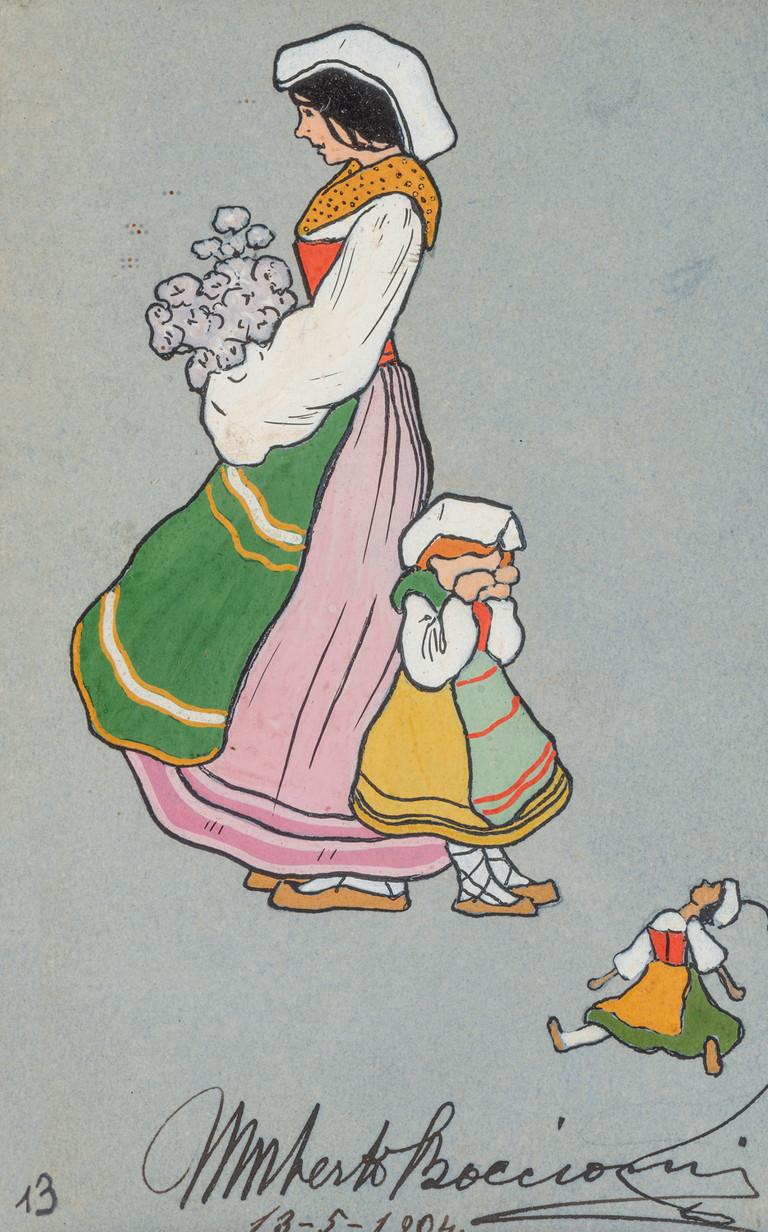 Umberto Boccioni, Ciociara, 1904