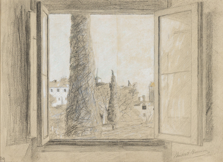 Umberto Boccioni, Finestra, 1902-1903