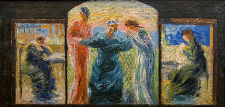 Umberto Boccioni, Veneriamo la madre, 1907-1908