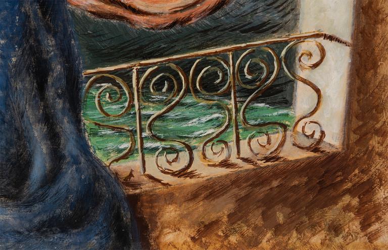 Alberto Savinio, Il Balcone, 1937 circa (detail)