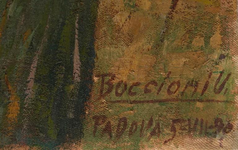 Umberto Boccioni. Particolare di Adriana Fabbri, 1904