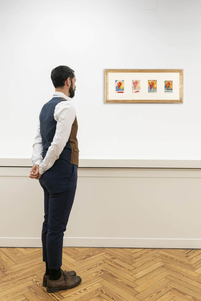Boccioni, Brunate, Allegoria delle Arti