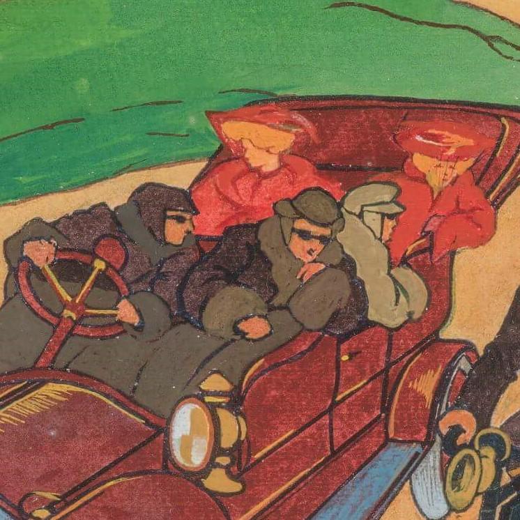 Boccioni. Automobile