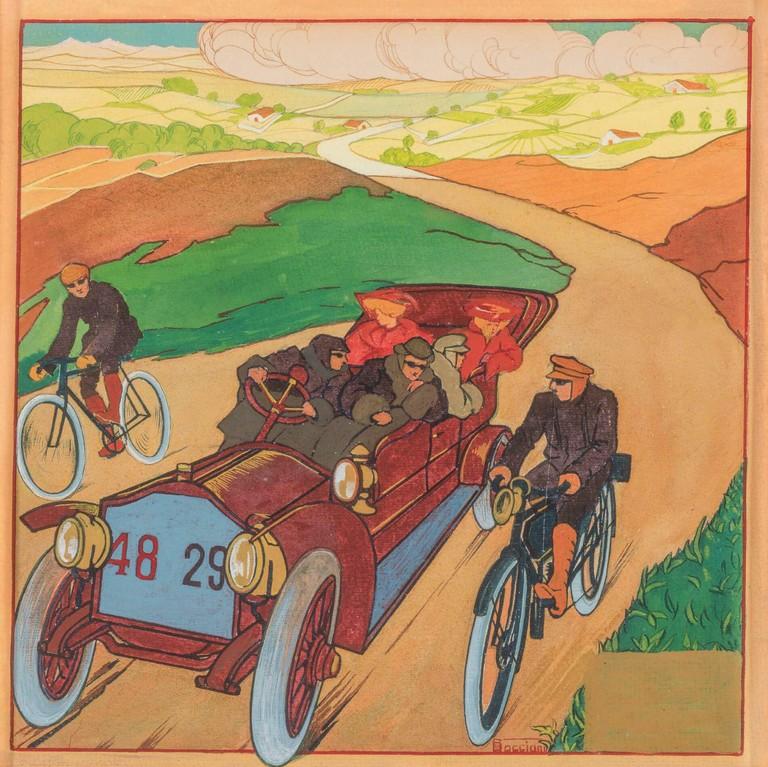 Boccioni, Automobile