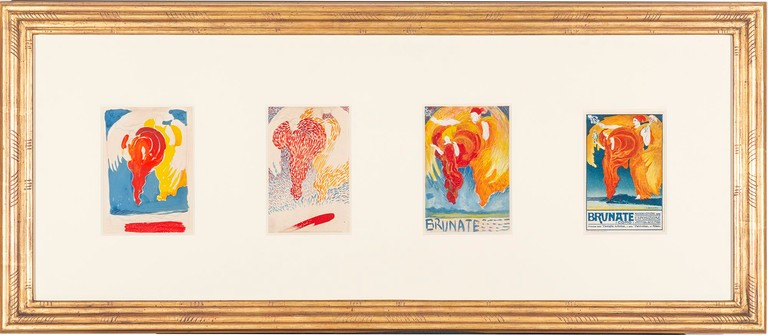 Boccioni. Allegoria delle Arti, Brunate