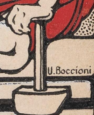 Boccioni. Il Lavoro italiano
