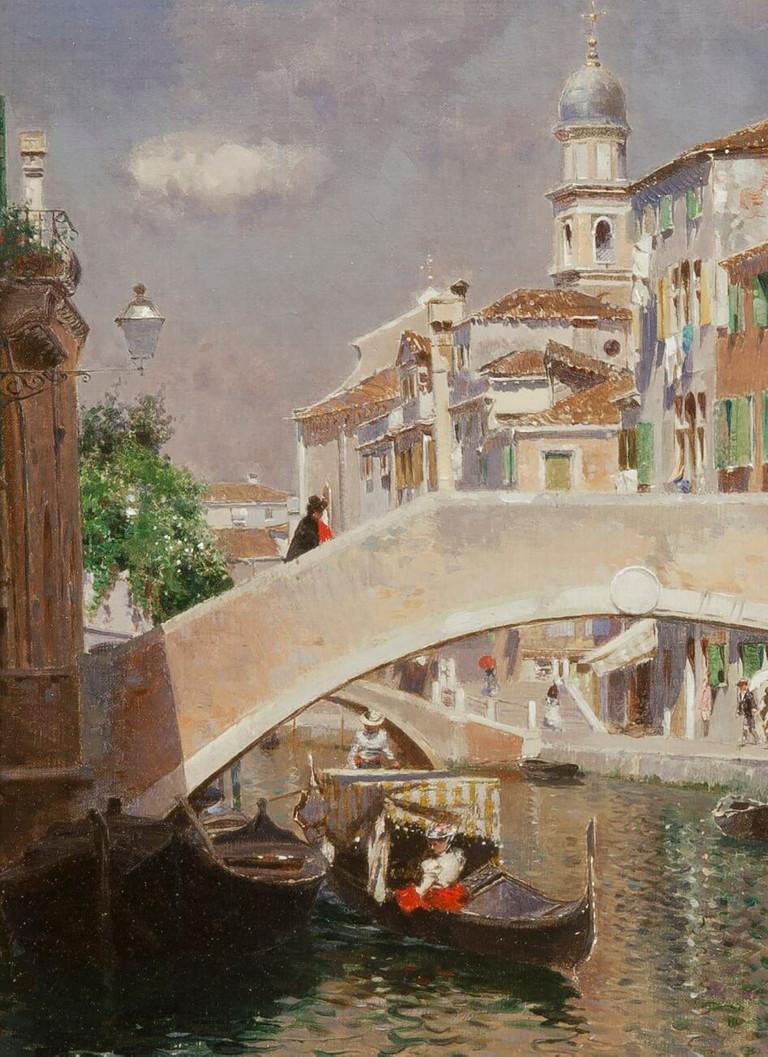 Rubens Santoro. Rio di Ognissanti, 1885