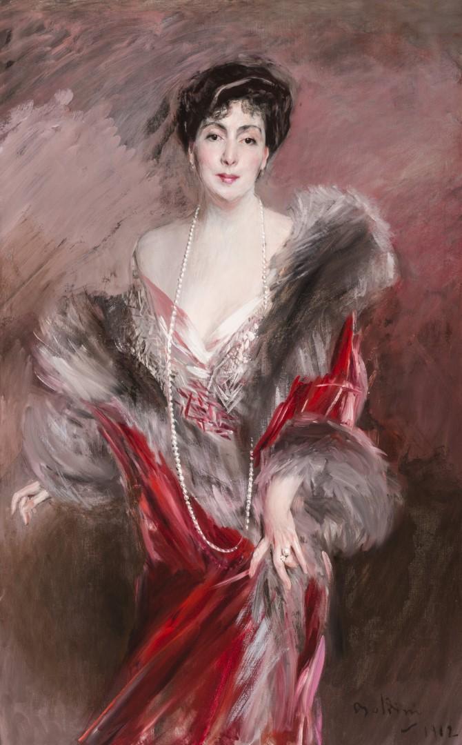 Boldini ritratto della Señora Matìas de Errázuriz Ortúzar