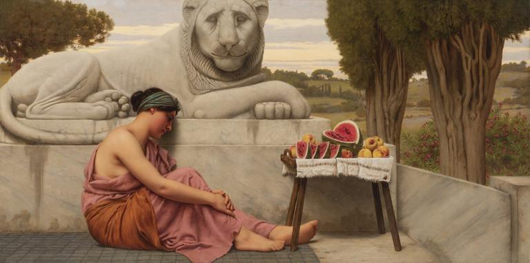 John William Goward, La venditrice di frutta, 1917