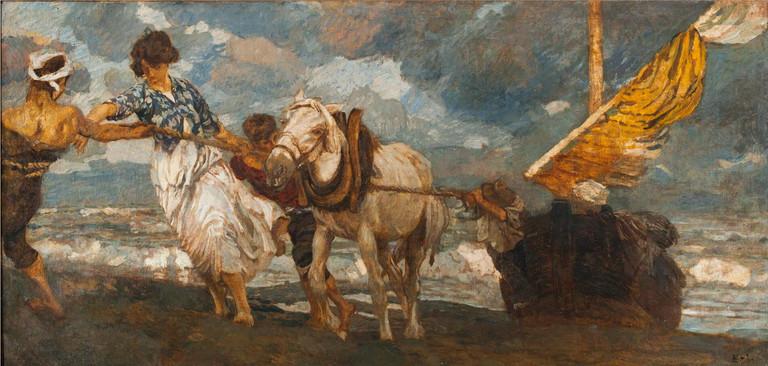 Tito Ettore, La Gomena, 1910