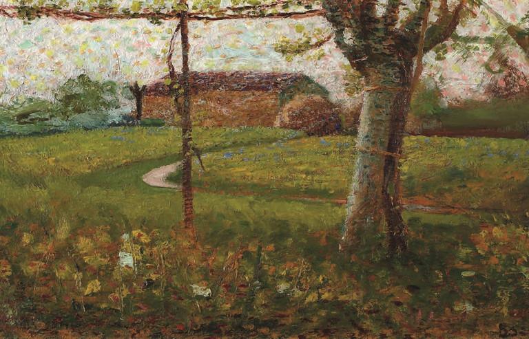 Umberto Boccioni, Lombard landscape