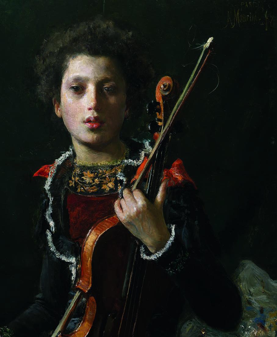 Mancini, Acrobat with violin
