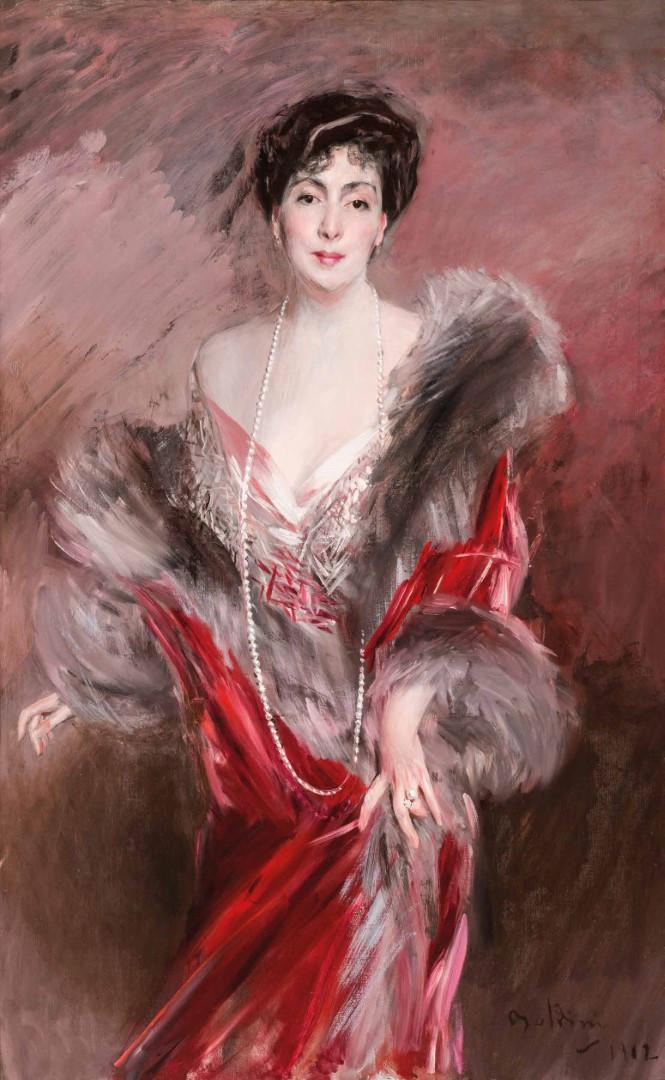 Boldini, Senora Matías De Errázuriz Ortúzar, 1912