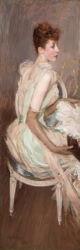Giovanni Boldini, Ritratto della Contessa de Leusse, 1890