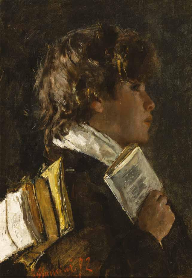 Antonio Mancini, Lo scolaretto, 1872