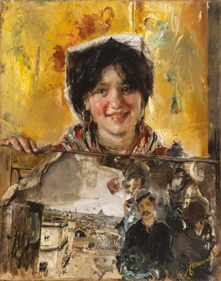 Antonio Mancini, Si vende! (la piccola ciociara), 1885-1890 c.