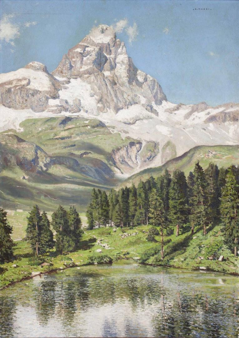 Cesare Maggi, Sua maestà il Cervino e il lago blu