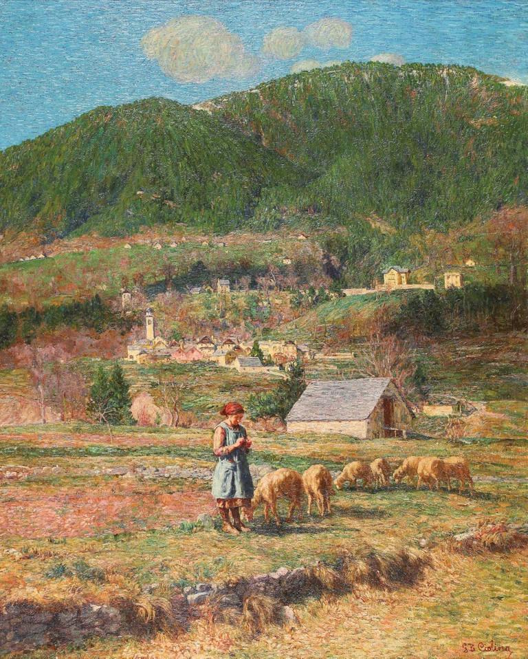 Giovanni Battista Ciolina, Paesaggio di Montagna